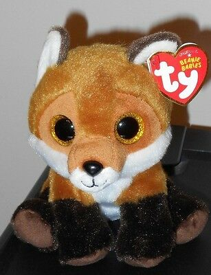 Ty Beanie Baby - FAY the Brown Fox ~ NEW for 2016 with MINT TAGS ~ IN HAND