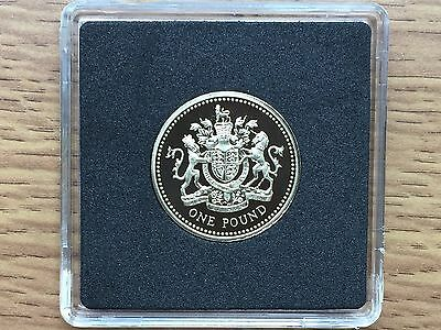 1993 £1 PROOF Coin - Royal Mint One Pound 1 - Free Case