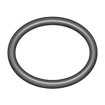 1WKX7 O-Ring, Silicone, AS568A-394, Round
