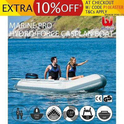 Bestway Hydro-Force Inflatable Boat Marine Caspian Grade Fishing Aluminum Oars