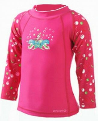 etirel Girls Infant Long Sleeve Shirt Dalia bbs pink