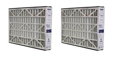 (2) Trion Air Bear Merv 8 Furnace Filter 16x25x3 Media Filter - 255649-101