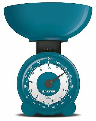 Salter Orb Kitchen Scales 3kg  Mechanical Cooking Food Weighing Scale with Bowl