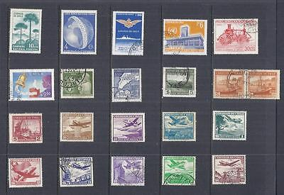 s8754 Americas / Chile / A Small collection Early & Modern / Hinged Mint & Used