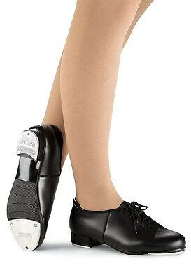 NEW Capezio Tapster or Balera Lace up Black Tap Dance Shoes Child & Adult Sizes