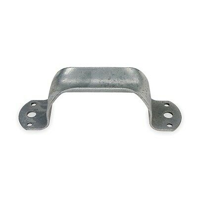 1WAE9 Heavy Duty Door Pull, Steel, 7 3/4 In L
