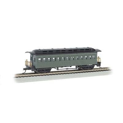 NEW Bachmann 1860-1880 Coach Painted/Unlettered Green HO 13405