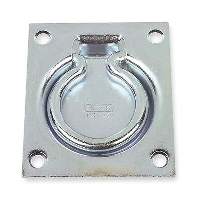 1WAH2 Flush Pull Ring, Steel, 3 1/2 In L
