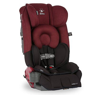 Diono 2018 Radian RXT Convertible Car Seat In Black Scarlet New In Stock!!!