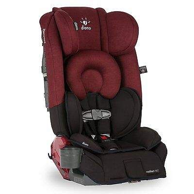 Diono Radian RXT Convertible Car Seat In Black Scarlet New In Stock!!!