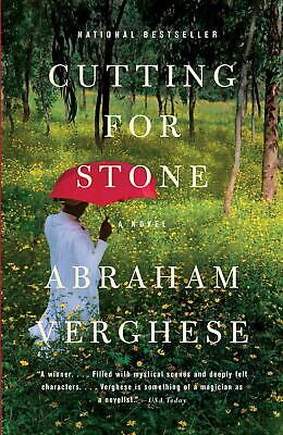 Cutting for Stone by Abraham Verghese (English) Paperback Book Free Shipping!