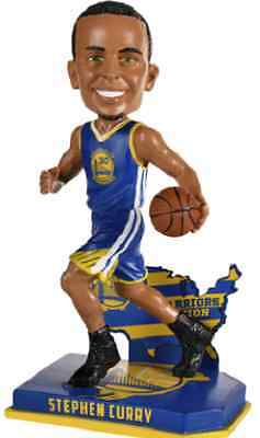 Stephen Curry Warriors  Nation Bobblehead - Blue