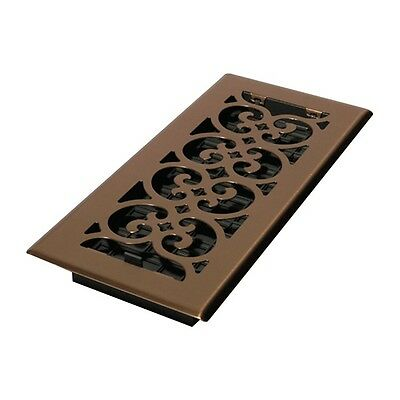 SPH410-A 4x10 Scroll Steel Plated Antique
