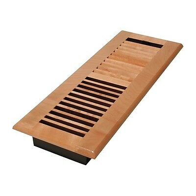 WML414-N 4x14 Louvered Solid Maple Natural