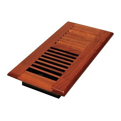 WLC410-N 4x10 Louvered Solid Cherry Natural