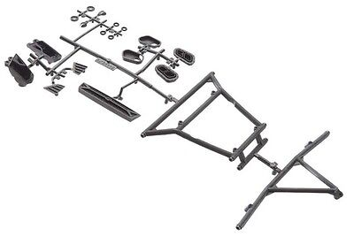 Axial AX31116 Y-380 Cage Front / Rear Inserts Yeti RTR Score