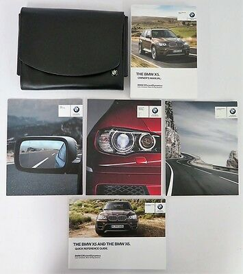 2013 BMW X5 Owners Manual Guide Book