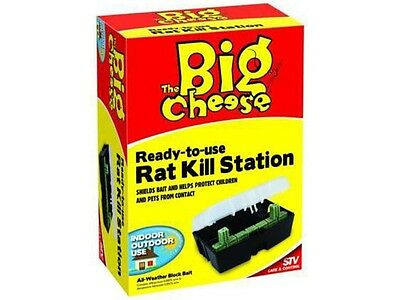 THE BIG CHEESE ReadyTo Use Rat Kill Station Indoor and Outdoor Use