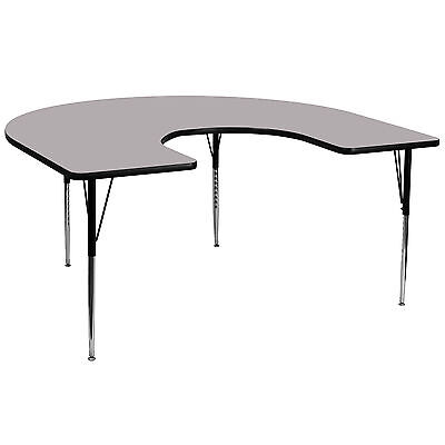 "Flash Furniture 66"" x 60"" Horseshoe Activity Table"
