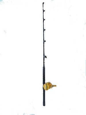 Tournament Edition 30 wide 2 speed reel and 30-50 lb. fishing rod WAREHOUSE SALE