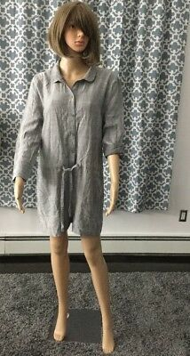 d572ee018bea NEW LEVEL 99 Chambray Romper Jumpsuit Size Medium -  62.99