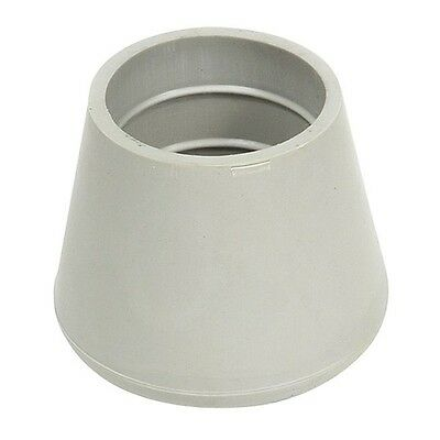 CTB 21G/W Protective Leg Tip, 1-1/8in., Gray, PK10