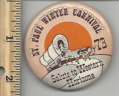 1973 ST PAUL WINTER CARNIVAL Button Pin