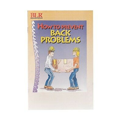 20019800 Training Booklet, Prevent Back Problems