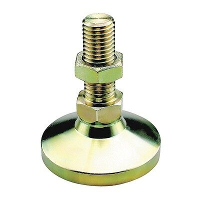MT-SW4 Leveling Mount, Metric, M20, Yellow Zinc