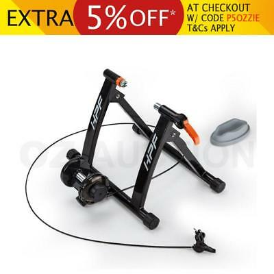 NEW HPF Indoor Bicycle Trainer Rollers Cycling Magnetic Bike Stand Training