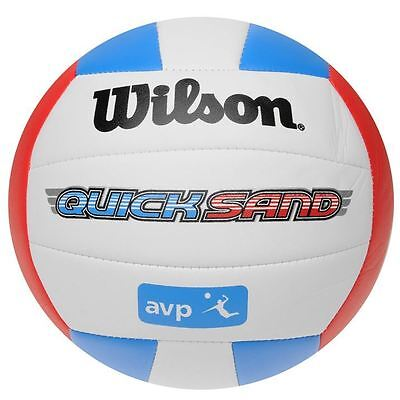 Wilson AVP Quick Sand Volley Ball Beach Backyard Training Sports Accessories