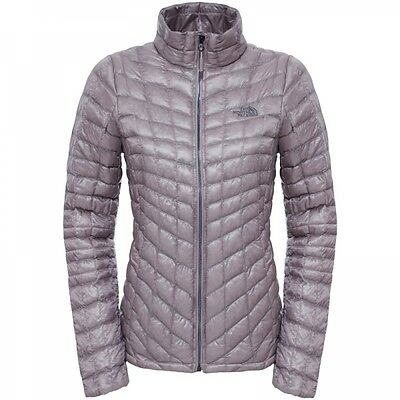The North Face Damen Thermoball Full Zip Jacket Winterjacke Quail Grey