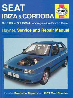 Seat Ibiza and Cordoba (1993-99) Service and Repair M... by Legg, A. K. Hardback