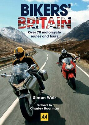 Bikers' Britain: Great Motorbike Rides (AA) by AA Publishing Book The Cheap Fast