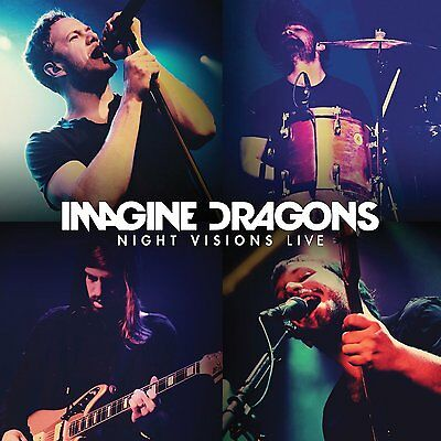 "IMAGINE DRAGONS NIGHT VISIONS ""LIVE"": CD & DVD ALBUM SET (APRIL 7th 2014)"