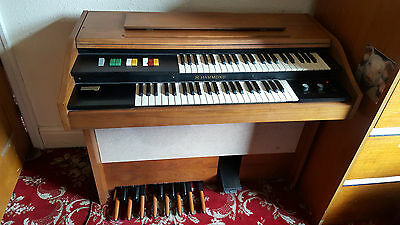 Rare Vintage 1970's Hammond Organ Cadette Model Collection Only