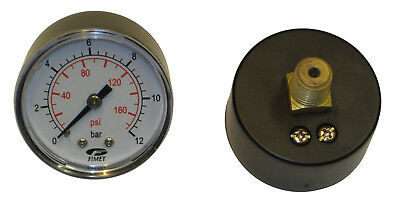 Manometer 12 Bar, Coaxial, for Pressure Boiler and Expansion Tanks