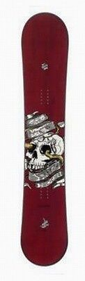 Crazy Creek Snowboard Riot Wide wine red + Firefly Soft-Binding A5.5 black