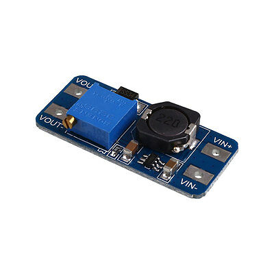 DC-DC 2A Adjustable Step Up Boost Power Supply Conversion Module Micro USB NEW