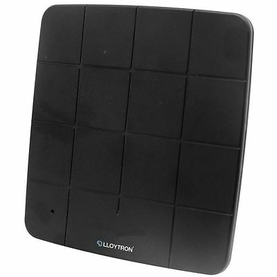 Lloytron 50db Amplified Digital Freeview Active HD Indoor Panel TV Antenna New