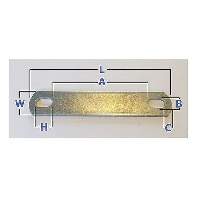 U17257.031.0031 U-Bolt Plate, 304 Stainless Steel, PK10