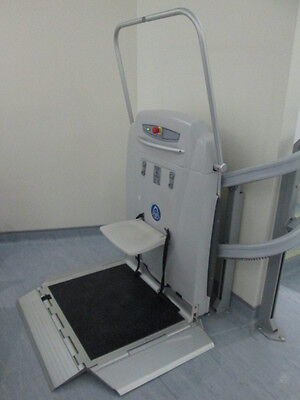 2014 ThyssenKrupp Supra 250Kg Inclined Platform Curved Wheelchair Stair Lift