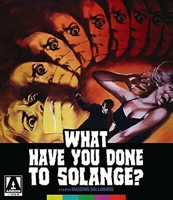 What Have You Done to Solange [New Blu-ray] With DVD