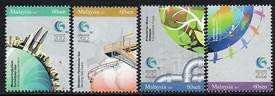MALAYSIA MNH 2012 The 25th World Gas Conference
