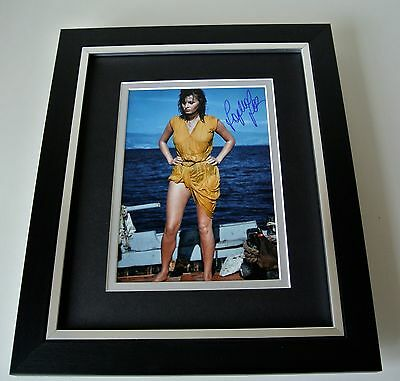 Sophia Loren SIGNED 10X8 FRAMED Photo Autograph Display Hollywood Film & COA