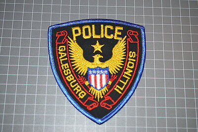 Galesburg Illinois Police Department Patch (T3)
