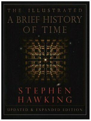 A Brief History of Time (Illustrated), Hawking, Stephen Hardback Book The Cheap