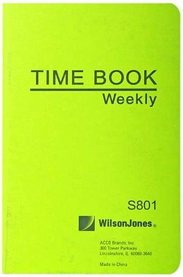 "Wilson Jones Foreman's Pocket Size Time Book - 36 Sheet[s] - 6.75"" X 4.12"" Sheet"
