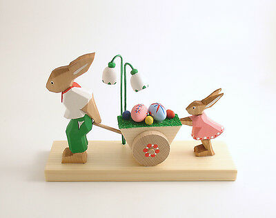Tranny easter jubilee bunnies swinging decoration