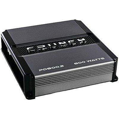 Crunch PD800.2 Pd 800.2 Power Drive Class Ab 2-channel Bridgeable Amp [800 Watts